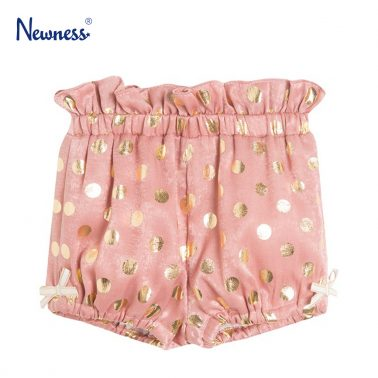 Сатенени гащи на точки от Newness в розово