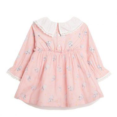 Приказна рокля с ангели в розово от Newness