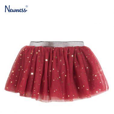 Пола от тюл с бляскави звездички в червено от Newness