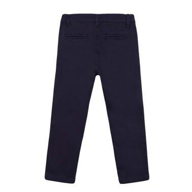 Елегантен панталон в тъмно синьо от Newness