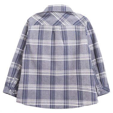 Риза на карета в тъмно синьо от Newness