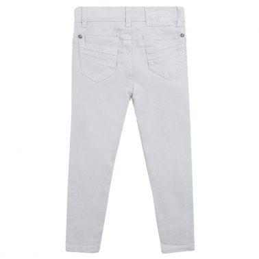 Панталон тип дънки в сиво от Newness