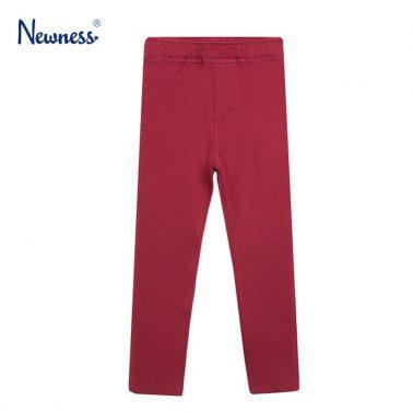 Изчистен клин Newness в бордо с имитация на джобове
