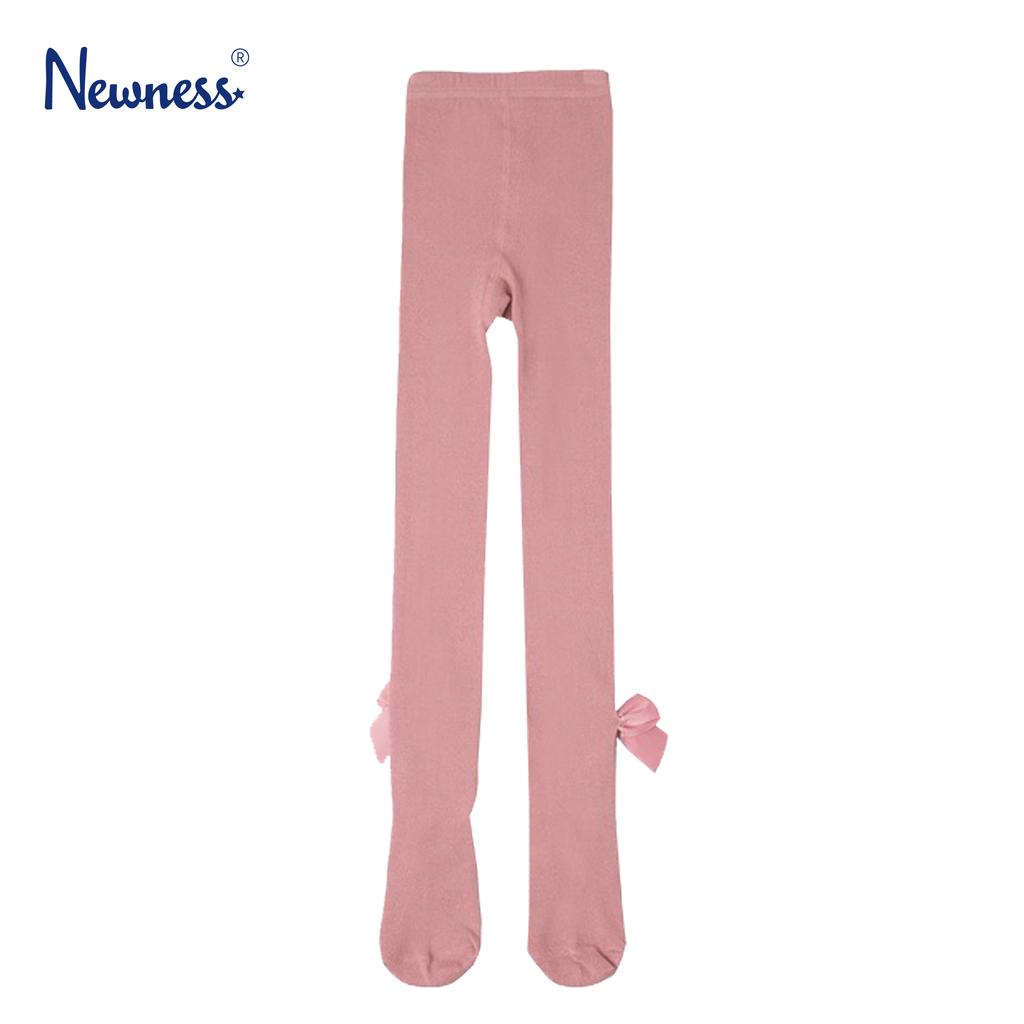 Чорапогащник с кокетни панделки от Newness в розово