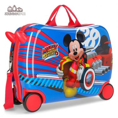 """Куфар-возилка от серия """"MIckey"""" с дълга и къси дръжки"""