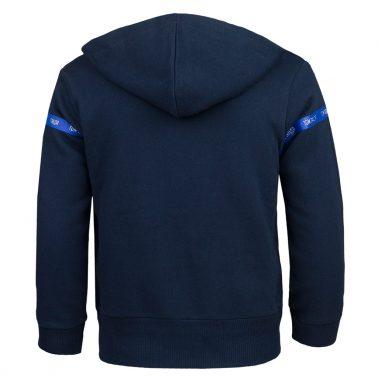 Модерна спортна блуза с качулка в тъмно синьо от Tom Tailor