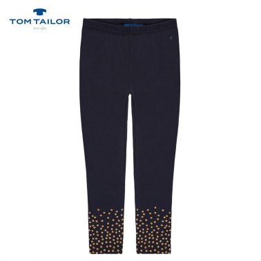 Клин с брокатени точки от Tom Tailor в тъмно синьо