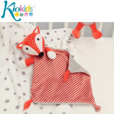 Лисичка - кърпа от фин плюш с възелчета
