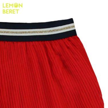 Пола солей в червено с ламе от Lemon Beret