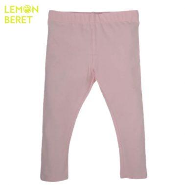 Едноцветен клин с дълъг крачол от Lemon Beret в бледо розово