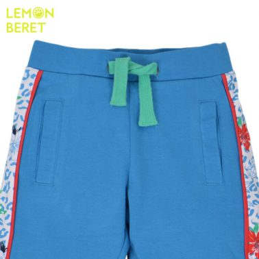 Долнище Lemon Beret в синьо с цветен кант