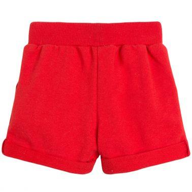 Трикотажни къси панталонки в червено от Newness