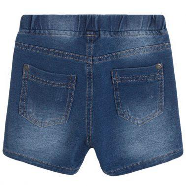 Къси дънкови панталони Newness в цвят деним