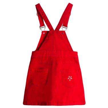 Класически сукман в червено с перли от Newness