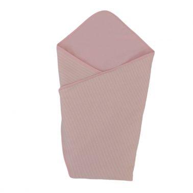 Луксозен бебешки комплект за изписване от 5 части в розово