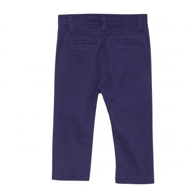 Бебешки официален панталон в тъмно синьо