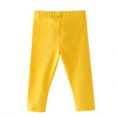 Бебешки изчистен клин в жълто