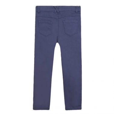 Елегантен детски прав панталон в синьо