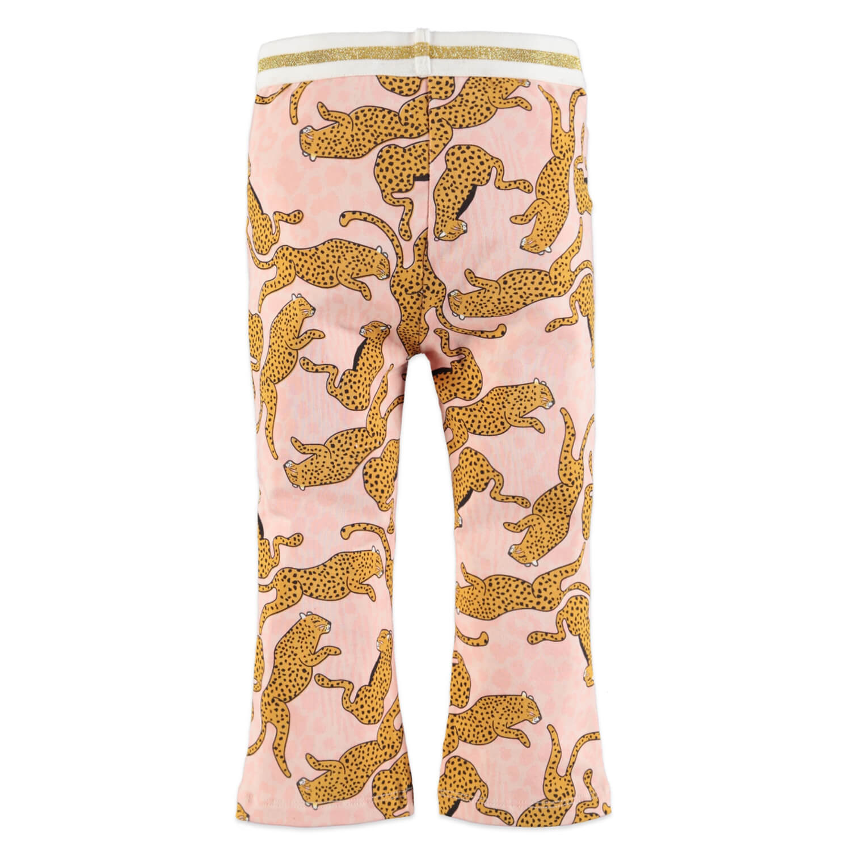 Бебешки клин с леопарди в розово