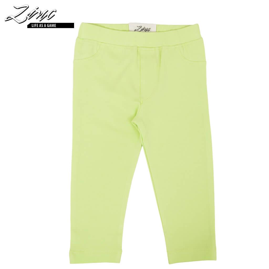 Дълъг клин-панталон едноцветен зелен