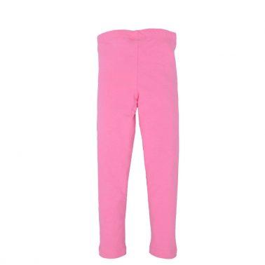 Детски дълъг клин с конче от органичен памук в розово