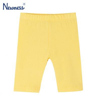 Бебешки едноцветен 3/4 клин в жълто