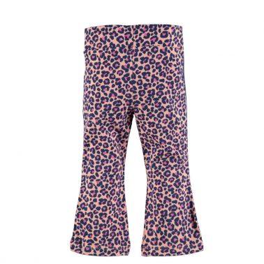 Бебешки леопардов дълъг клин в розово