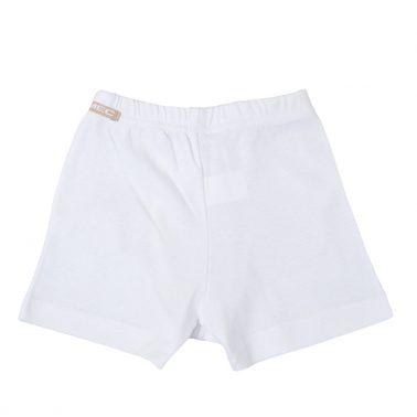 Детско бельо памучни боксерки бял цвят