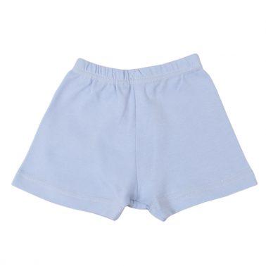 Детско бельо памучни боксерки светло син цвят