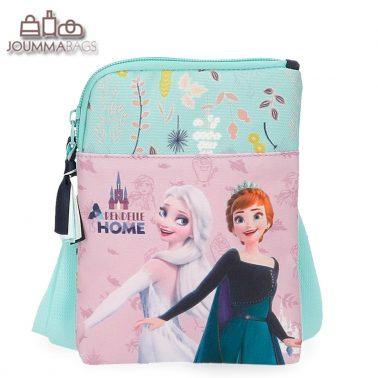 Малка детска чантичка с дълга дръжка Елза и Анна Frozen