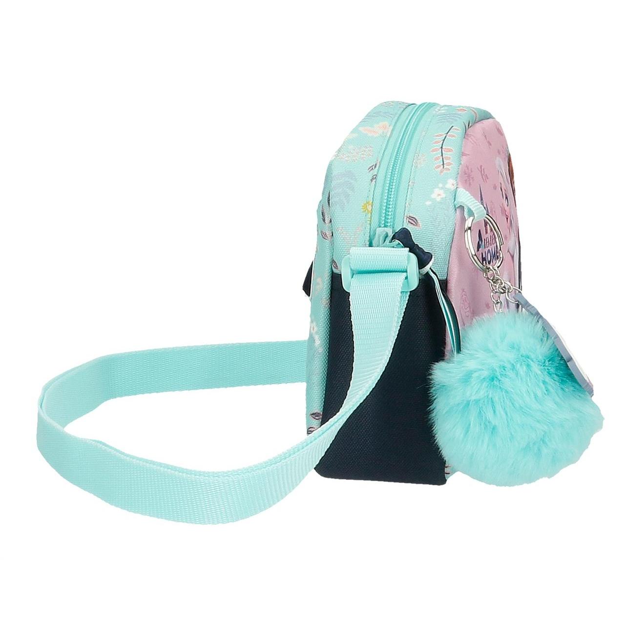 Малка детска чанта с дълга дръжка за рамо с Елза и Анна Frozen