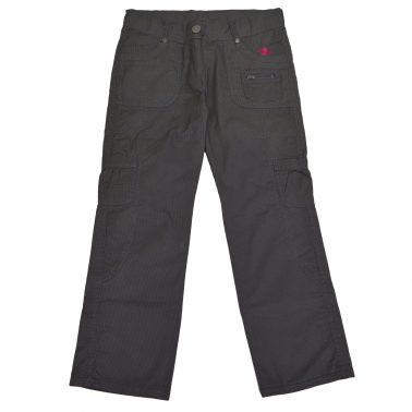 Детски дълъг панталон в сиво