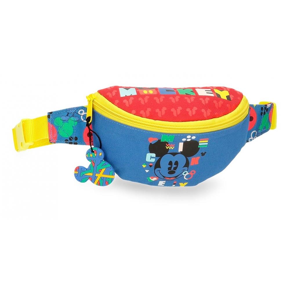 Детска чанта за кръста с Мики Маус