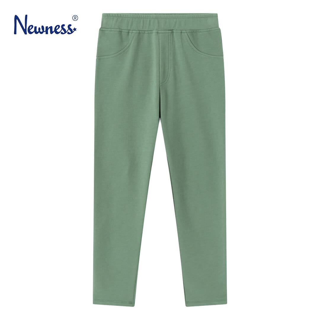 Детски клин тип панталон в зелено