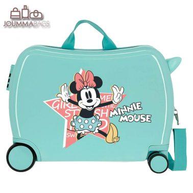 Детски куфар возилка Мини Маус със звезда