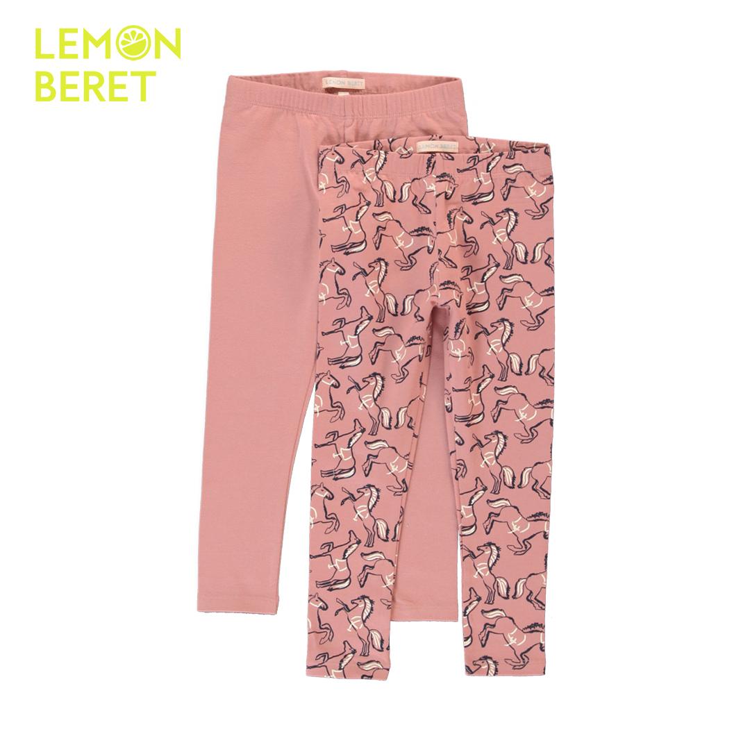 Комплект два броя детски клинове в розово