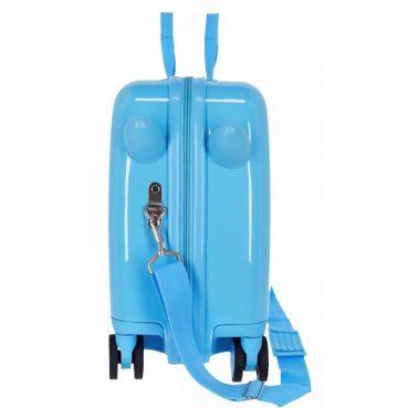 Детски куфар возилка Baby Shark в синьо