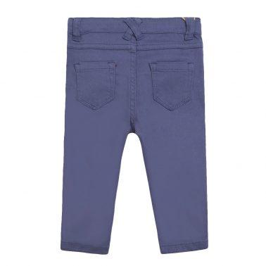 Детски панталон тип дънки в синьо