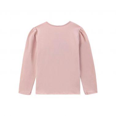 Детска блуза с щампа момиче в розово
