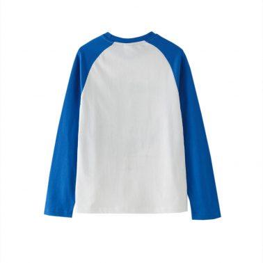 Детска блуза с щампа космонавт в бяло