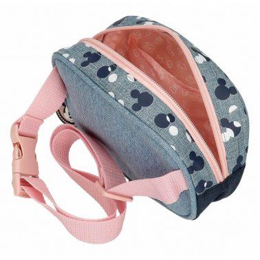 Малка детска чанта за кръст Мики Маус