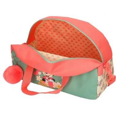 Детска пътна чанта с пухче Мини Маус